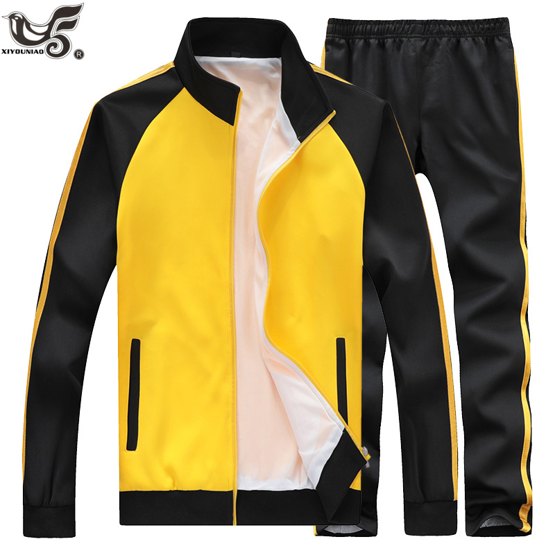 Men's Jogging Homme Autumn Couple Sportswear 2 Piece Track Suit For Men Training Sportsuit Male Fitness Clothing Boys Tracksuit