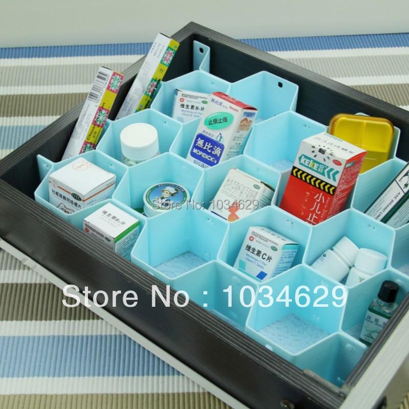Aliexpress Com Buy Wholesale Ikea Novelty Home Decor Storage Box For Bra Underwear Jewelry Organizer Honeycomb Plastic Storage Box In Drawer Large From