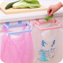 New Portable Kitchen Hanging Trash Rubbish Bag Holder Garbage Rack Cupboard Cabinet Storage Rag Hanger #232367(China)
