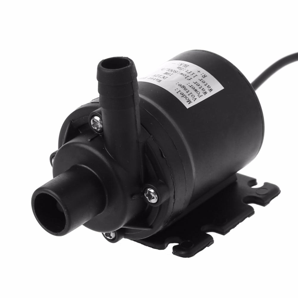 800L/H 5m DC 12V Solar Brushless Motor Water Circulation Submersible Water Pump Solar Pumps