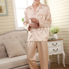 faux silk men sleepwear mens pajamas Men's