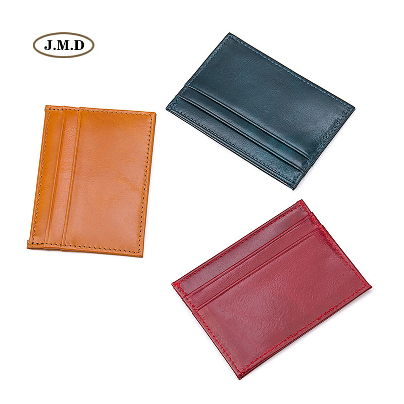 New Arrivals Colorful Genuine Leather Fashion Style Mens Women Men Card Holder Money Holder ID Holder Coin Pocket R 8174 in Card ID Holders from Luggage Bags