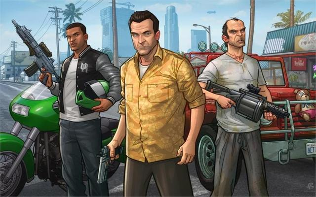 Juego Gta Grand Theft Auto V Rockstar Games Michael Franklin Trevor