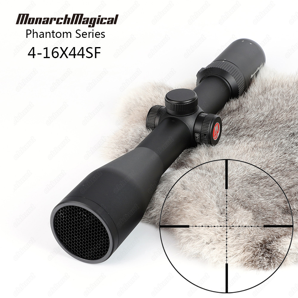 MonarchMagical Phantom Series 4-16X44 SF Hunting Rifle Scope Riflescope Mil Dot Side Parallax Top Quality Tactical Optical Sight шлепанцы hurley sample phantom sandals rifle