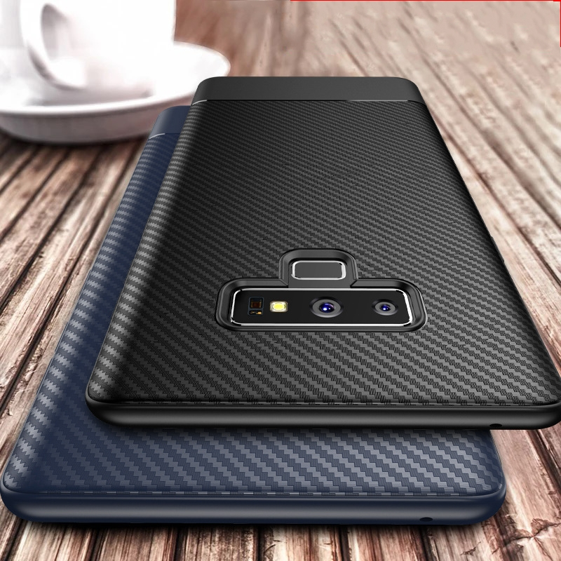 Business Carbon Note 8 Case For Samsung Galaxy Note 9 10 S10 E Note9 Coque For Samsung Galaxy S8 S9 S10 Plus Note 9 8 Case Cover