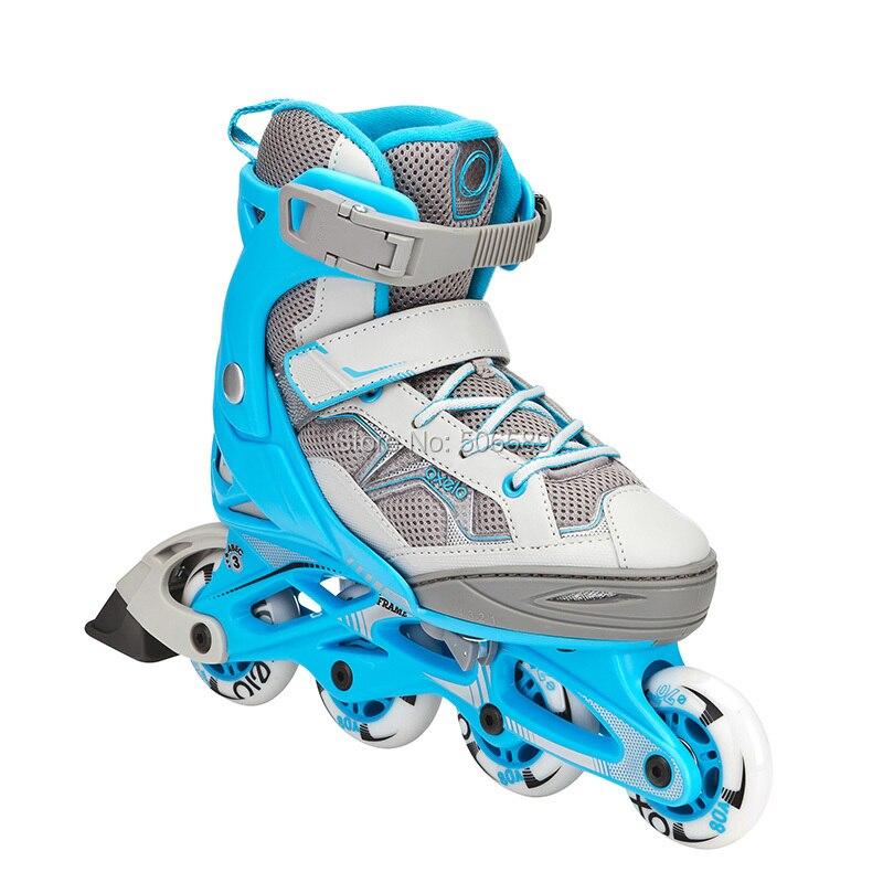 Free Shipping Roller Skates Children Size Adjustable 4 Colors Fit3jr