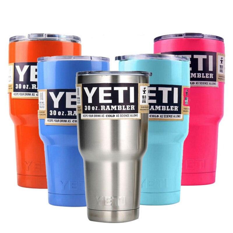 9 color <font><b>Bilayer</b></font> 304 <font><b>Stainless</b></font> <font><b>Steel</b></font> Insulation Cup 30 OZ <font><b>YETI</b></font> Cups Cars Beer Mug Large Capacity Mug Tumblerful