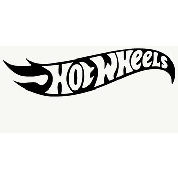 HotMeiNi 20*8 cm Hot Wheels Adhesive Funny Car Sticker For Truck Window Bumper Auto SUV Door Vinyl Decal 13 Colors