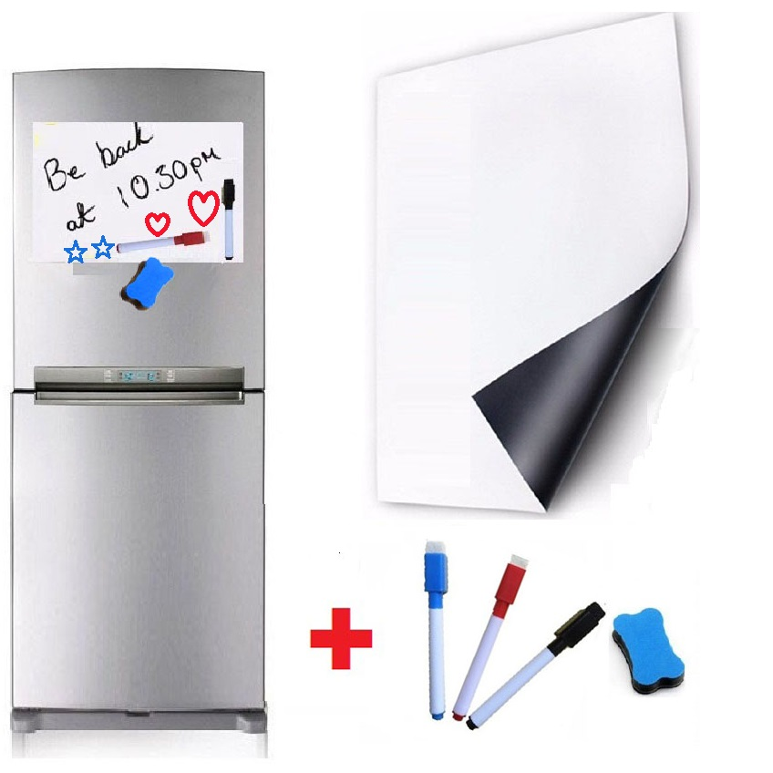 A3 Weekly Schedule Daily Organiser Office Planner Magnetic Fridge Whiteboard 2pC