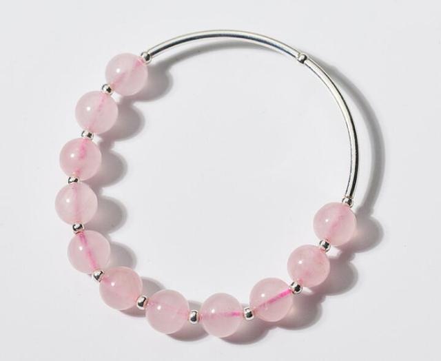 Achat Bracelet Quartz Rose