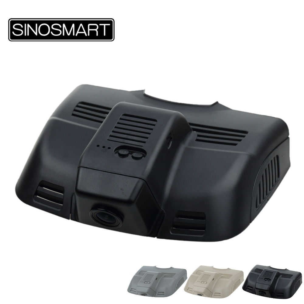 SINOSMART 96658 Wifi DVR Camera for Mercedes Benz E Series W212 Deluxe Model W204 Control by