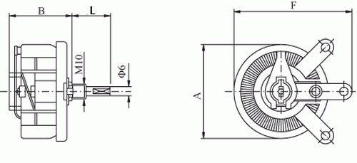 Image 2 - 25W 1K OHM High Power Wirewound Potentiometer, Rheostat, Variable Resistor, 25 Watts.variable resistorwirewound potentiometerpower potentiometer -