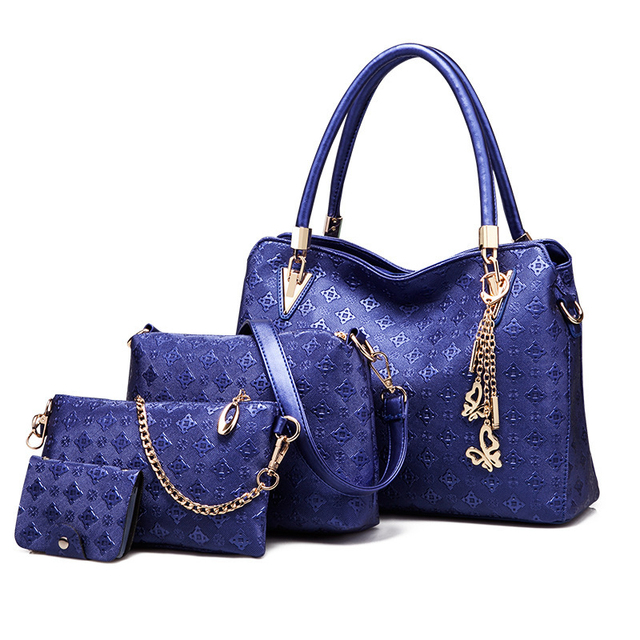 LUDESNOBLE Luxury Handbags Women Bags Designer Shoulder Bag Female Bag Women Leather Handbags bags set bolsa feminina sac luxe