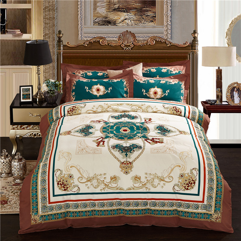 Luxury Bed Sheet Bedding Set Twin Full Queen King UK Double AU Single Size Duvet Cover Pillow Cases High Quality Bed Linen Set Luxury Bed Sheet Bedding Set Twin Full Queen King UK Double AU Single Size Duvet Cover Pillow Cases High Quality Bed Linen Set