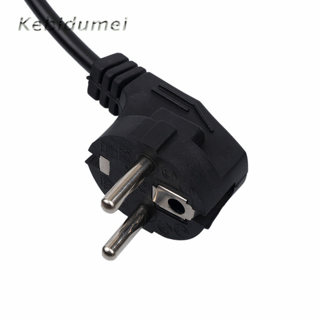 Hot 3 Prong AC Power Cord 1.2M Plug Extension Wall Cord Power Cable ...