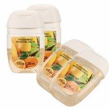 Mango 5 шт./компл. портативный безводной работает дезинфицирующее средство для рук антибактериальный гель для рук 29 мл