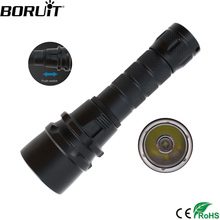 80M Diving 2000 Lm Underwater Flashlight Lamp CREE XM-L T6 LED Waterproof Lantern Dive Head Torch Flash Light By 18650 цена