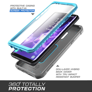 Image 5 - SUPCASE For Samsung Galaxy S9 Plus Case  UB Pro Full Body Rugged Holster Protective Case with Built in Screen Protector Cover