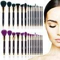 15Pcs Pro Makeup Brushes Cosmetic Powder Foundation Make Up Brush Set