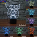 The superman 3D LED Night Light Touch Switch All Colors Flash In Turn and gift to friend