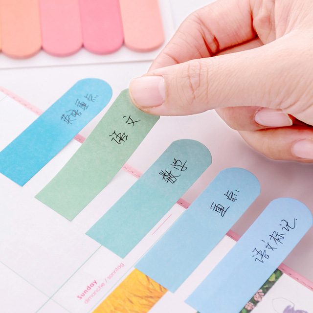120 Pages Cute Kawaii Memo Pad Sticky Notes Stationery Sticker index Posted It Planner Stickers Notepads Office School Supplies 3