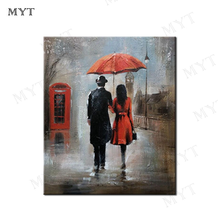 MYT Free Shipping Wholesale Abstract Women and Men Art Pop Art Abstract Oil Painting On Canvas