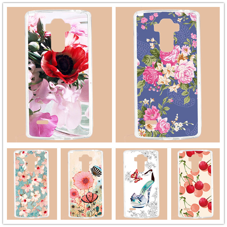 For <font><b>Lg</b></font> g4 Stylus <font><b>Case</b></font> Cover,Luxury Diy UV Painted Colored Flowers Fruit Hard PC <font><b>Case</b></font> For <font><b>LG</b></font> G4 Stylus Ls770 <font><b>G</b></font> <font><b>Stylo</b></font> G4 Note image