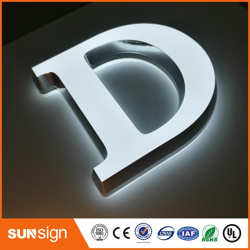Mini LED Backlit Channel Letter SignsLED Open Signs