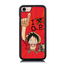 Anime Manga One Piece Style Paint Soft Rubber Phone Case Coque For iPhone 6 6S Plus 7 7 Plus 5 5S SE Hard Back Cover Skin Shell
