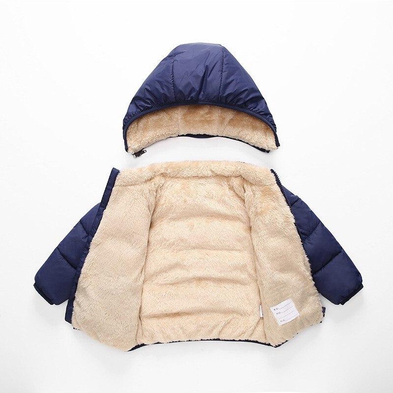 CROAL CHERIE Children's Parkas Winter Jacket For Girl Boys Winter Coat Kids Warm Thick Velvet Hooded Baby Coats Outerwear  (6)