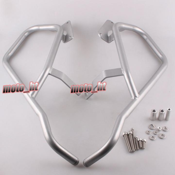 Front Highway Crash Bar Protector For BMW K1600GTL 2011 2012 2012 2013 2014 Silver ColorFront Highway Crash Bar Protector For BMW K1600GTL 2011 2012 2012 2013 2014 Silver Color