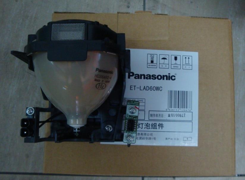 ET-LAD60 / ET-LAD60W original Projector lamp bulb for PT-D5000 PT-D6000 PT-D6710 PT-DW6300 PT-DZ6700 PT-DZ6710E PT-DZ6700E compatible projector bulb with cage et lad60 et lad60w for projector pt d6000