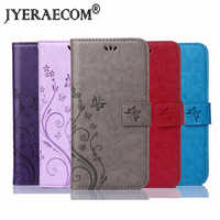 JYERAECOM Flip PU Leather + Wallet Cover For Meizu Pro 6 U20 U10 M5C A5 M6 Note M3 M2 mini M5s M3s M15 Case