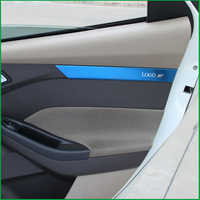 FOR Ford Focus MK3 2012 2013 2014 2015 2016 2017 INTERIOR DOOR PLANK HANDLE STRIP MOULDING COVER TRIM STICKER CAR ACCESSORIESS