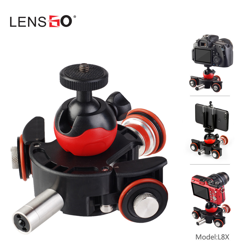 Image 3 - LENSGO Camera Video Track dolly Motorized Electric Slider Motor Dolly Truck  for Nikon Canon DSLR camera DV Movie Vlogging Gear-in Remote Controls from Consumer Electronics