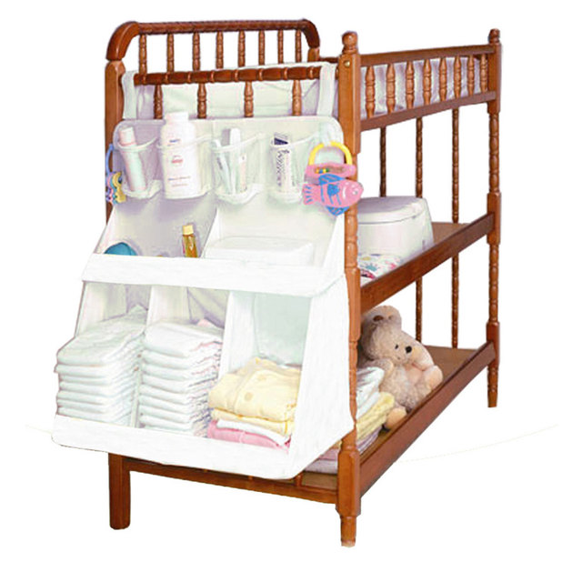 2017 Brand Diapers Organizer Baby Bed Hanging Bag Portable Storage Bedding Set Multy Style Waterproof Accessories YY0436