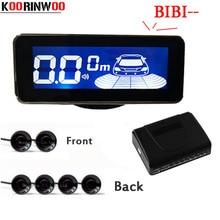 Koorinwoo новейший ЖК-экран парктроник автомобильные парковочные датчики 6 Buzzer Alert Probes автомобильный детектор автомобиля Parkmaster Реверсивный назад