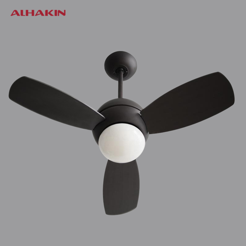 Kitchen Fans With Lights: ALHAKIN Vintage Ceiling Fan With Light And Remote Control