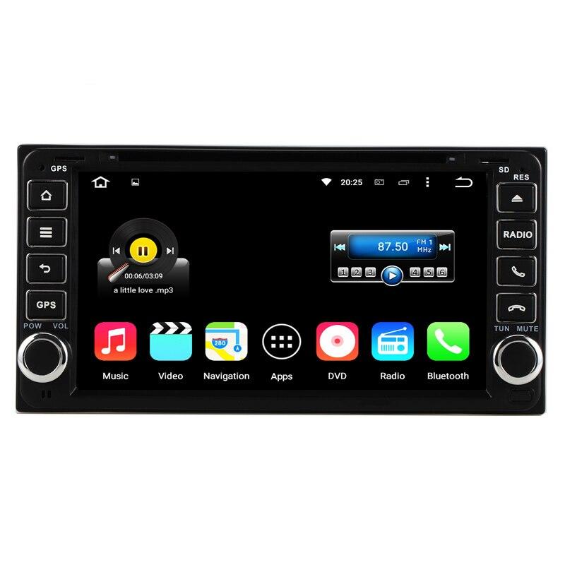 Quad Core font b Android b font 5 1 Universal 2 Din Car DVD Player GPS