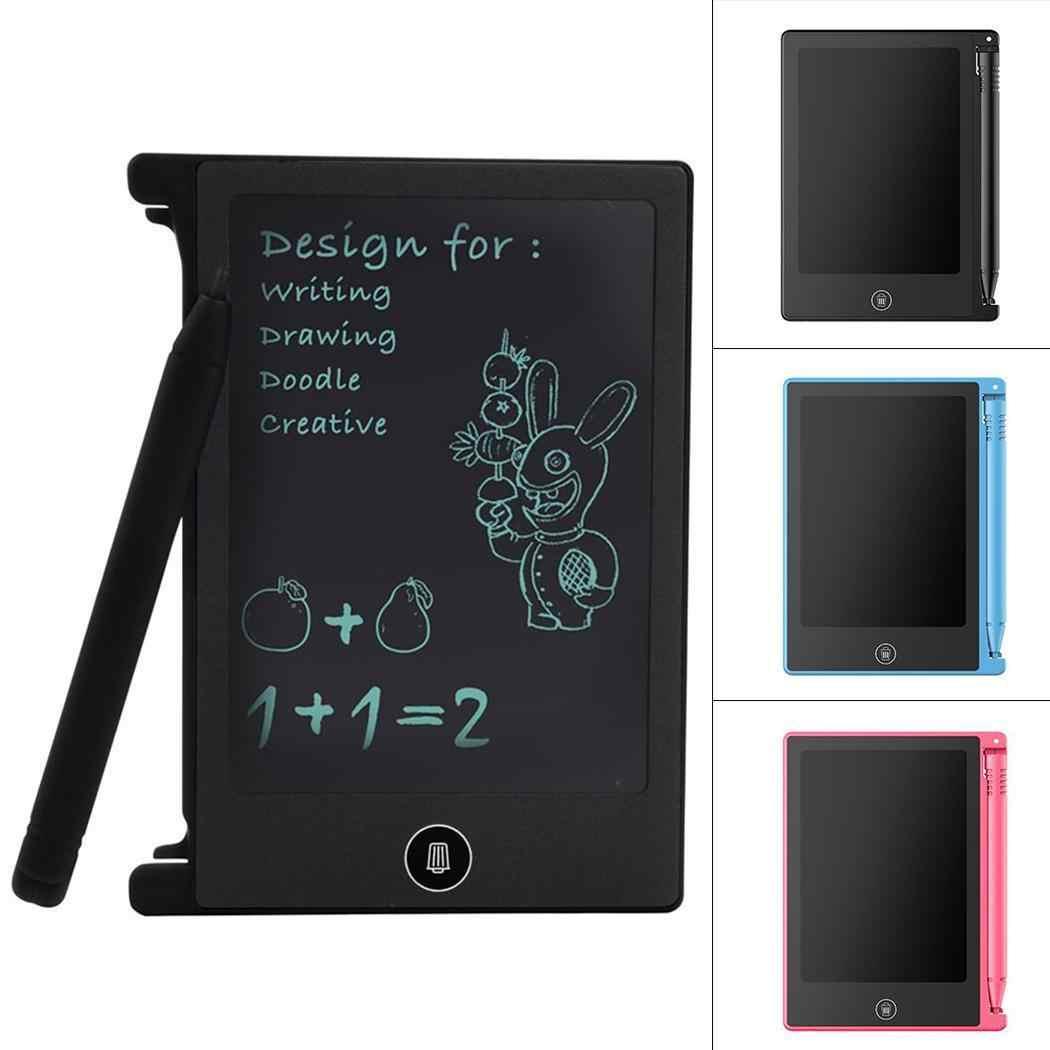 Portátil práctico reutilizable LCD escritura dibujo Hogar, Oficina tableta escritura, Drawsting