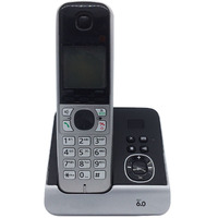 Dect 6 0 Digital Cordless Phone With Answer System Call ID White Backlit LCD Wireless Cordless