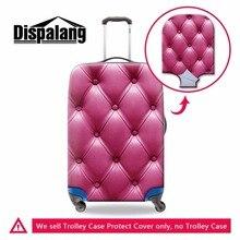 旅行に道路弾性荷物カバー革パターントロリーケースカバースーツケース保護は旅行アクセサリー Dispalang