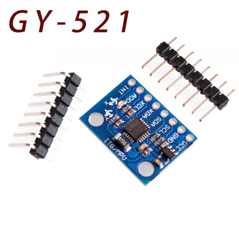 GY-521 MPU-6050 MPU6050 Module 3 Axis Gyro Sensors+ 3 Axis Accelerometer Module