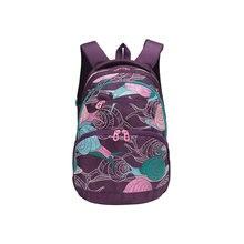 Рюкзак молодежный Grizzly, фиолетовые улитки