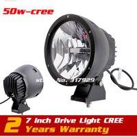 7 50W LED Driving Light 12V 24V Offroad Drive Light ATV Truck 4X4 Tractor LED Work