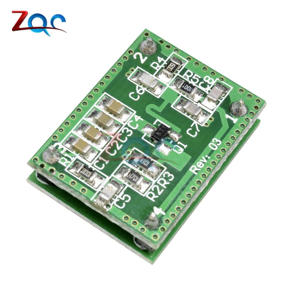 LV002 10.525GHz 8-15m Doppler Radar Microwave Sensor Switch Module DC 6-40V(China)