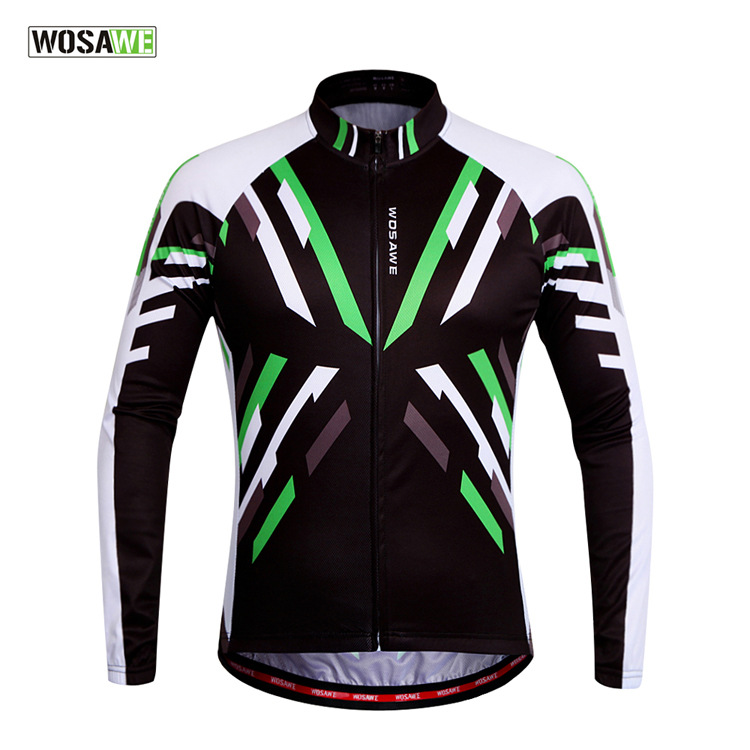 WOSAWE Walesa summer summer riding Jersey breathable long sleeved bicycle riding clothes BC280