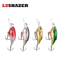 LUSHAZER minnow crank bait 9.5g 9.5cm jerkbait isca artificial fish wobbler  hard lure cheap fishing tackle fly tying materials