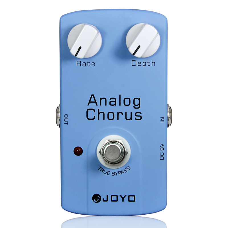 Купить с кэшбэком JOYO JF-37 ANALOG CHORUS Electric Guitar Effect Pedal with True Bypass Guitar Parts Accessory Effects