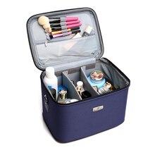 Большая емкость портативный professional косметический чехол для путешествий макияж сумка для хранения multi-function коробка для хранения с плечевым ремнем
